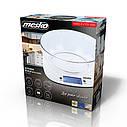 Весы электронные  Mesko MS 3165 кухонные с чашей, фото 5