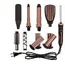 Набор для укладки волос Camry CR 2024 комплекс 5-в-1, фото 8