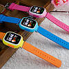 """Детские умные смарт часы дитячий годинник Q90 Q100 Smart Baby Watch с GPS и кнопкой SOS 1.22"""" 5 цветов, фото 4"""