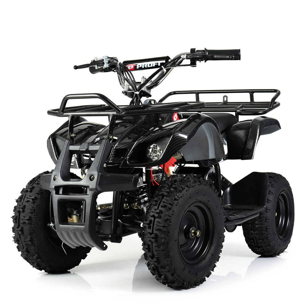 Электрический квадроцикл Profi HB-EATV800N-19(MP3) V3 черный