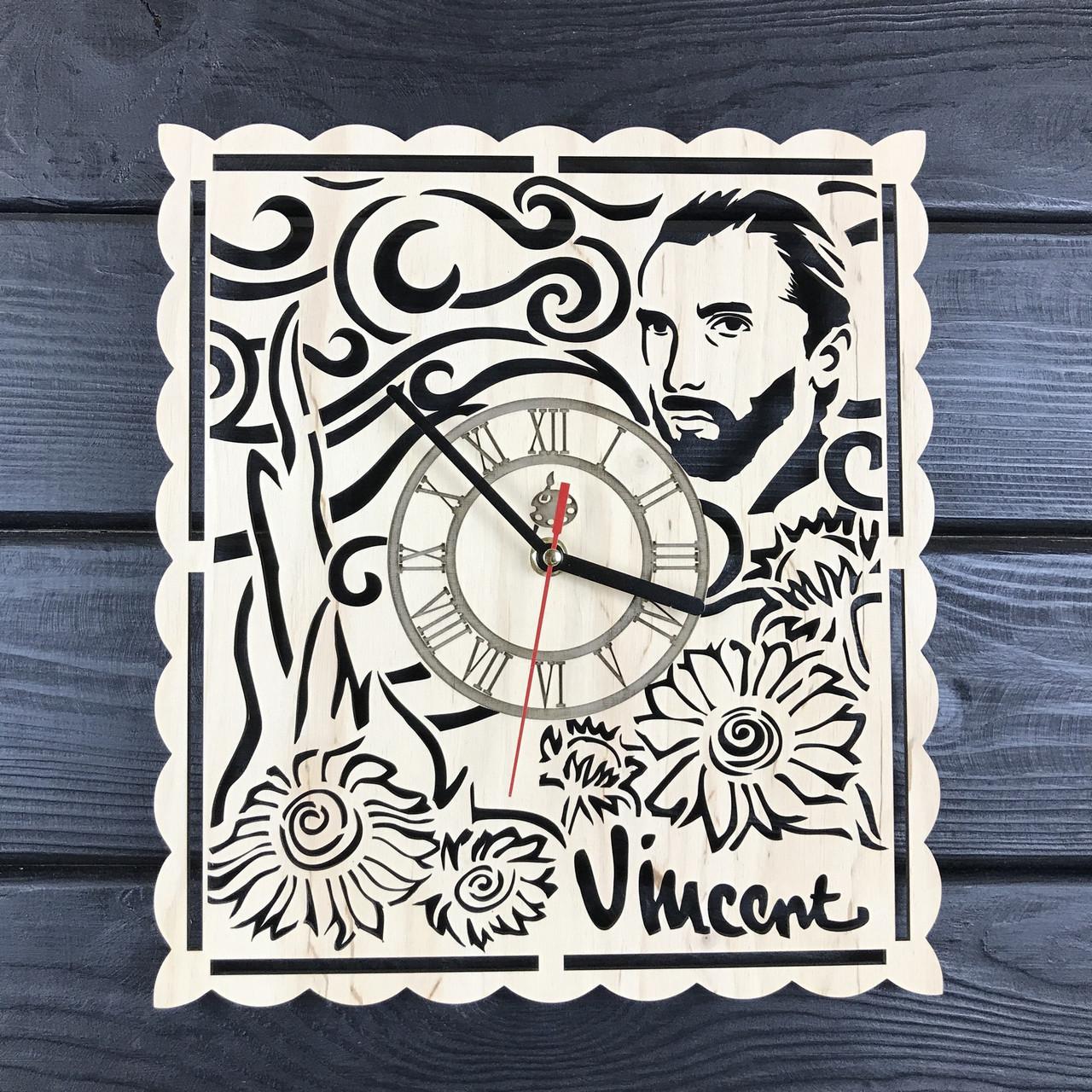 Тематические интерьерные настенные часы «Винсент Ван Гог»