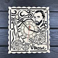 Тематические интерьерные настенные часы «Винсент Ван Гог», фото 1
