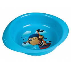 Детская тарелка пластиковая Пираты (4/407)