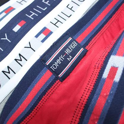 Мужские трусы брифы слипы брендовые в подарочной упаковке хлопок 5шт, фото 3