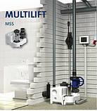 Компактна каналізаційна станція Multilift MSS.11.1.2 1x230 для установки в приміщенні, фото 5