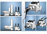 Компактна каналізаційна станція Multilift MSS.11.1.2 1x230 для установки в приміщенні, фото 7