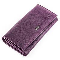 Кошелек женский CANPELLINI 17050 кожаный Фиолетовый, фото 1