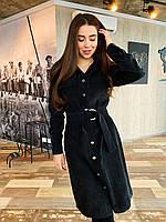 Платье вельветовое К 00540 с 01