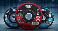 Отрезной круг с креплением X-LOCK 41F 115x1,6x22,23/XL A46Q-BFP PREMIUM TYROLIT