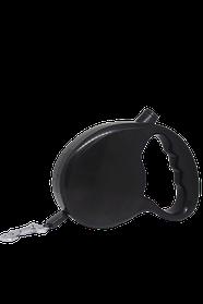 Поводок-рулетка FOX для собак 3 метра лента, черный