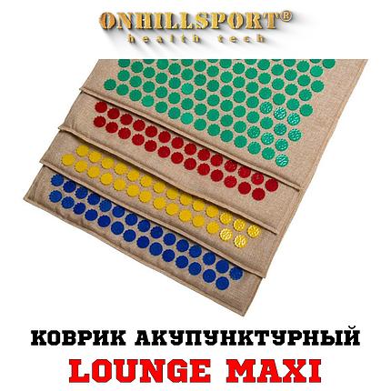 Коврик аккупунктурный Lounge maxi (80х50см), фото 2
