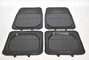 Коврики резиновые универсальные на все авто CARGUMM комплект ковриков для всех машин