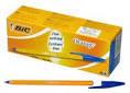 Ручка BiC шариковая Orange 1113 синяя
