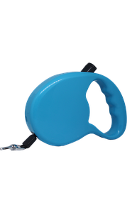Поводок-рулетка FOX для собак 3 метра лента, голубой