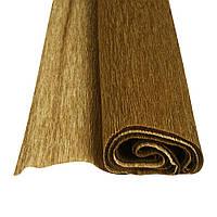 Папір крепований Herlitz 50х150см 32г металізований золотистий