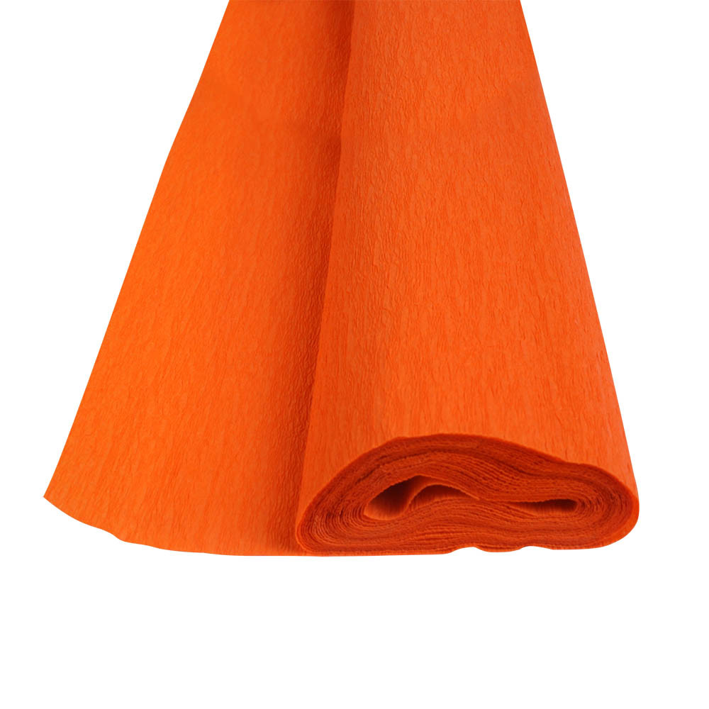 Папір крепований Herlitz 50х250см 32г помаранчевий (253039)