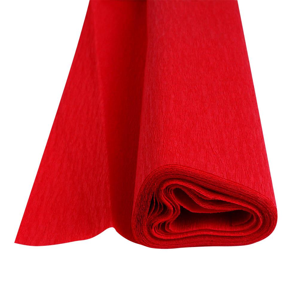 Папір крепований Herlitz 50х250см 32г червоний(253047)