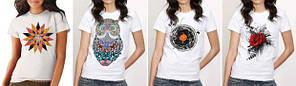Печать на женских футболках, фото 2