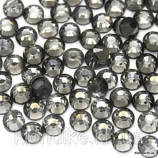 Стразы горячей фиксации DMC, ss30(6.5 мм), Стекло, Цвет: Серый (958) (288 шт.)