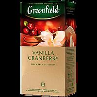 """Чай черный в пакетиках Greenfield  """"Vanilla Cranberry"""" 25 шт Клюква"""