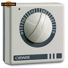 Механический комнатный регулятор температуры Cewal RQ 05
