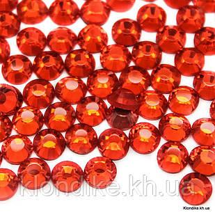Стразы горячей фиксации DMC, ss30(6.5 мм), Стекло, Цвет: Красный (918) (288 шт.)