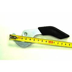 Ручка крючок для твердотопливного котла (короткая)