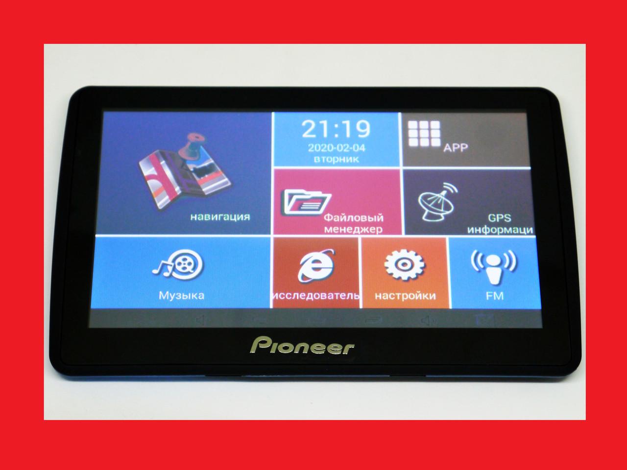 7'' Планшет Pioneer 7008 - GPS+ 4Ядра+ 8Gb+ Android