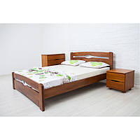 Кровать Олимп Нова с изножьем массив бука
