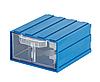Выдвижной модульный ящик 302 (106*121*Н60мм) 4 отделения