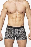 Мужские трусы-шорты чёрный с белым  Salvador Dali