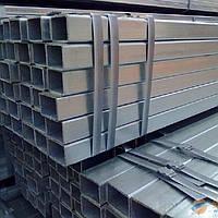 Днепр алюминиевая профильная труба (квадратная и прямоугольная) розница опт порезка от 1 м
