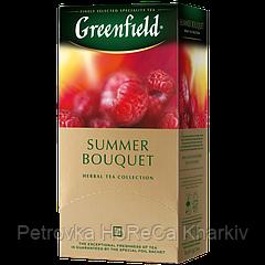 "Чай в пакетиках Greenfield ""Summer Bouquet"" 25шт Малина"