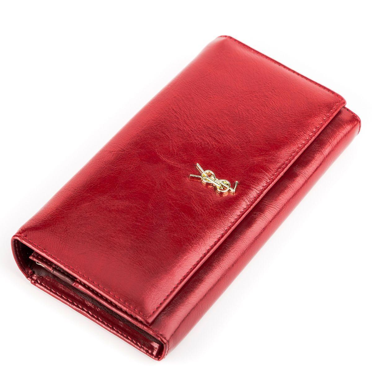 Кошелек женский BALISA 13855 кожаный Красный, Красный