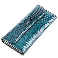 Кошелек женский BALISA 13859 кожаный Синий, Синий, фото 1