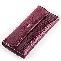 Кошелек женский BALISA 13863 кожаный Фиолетовый, Фиолетовый, фото 1
