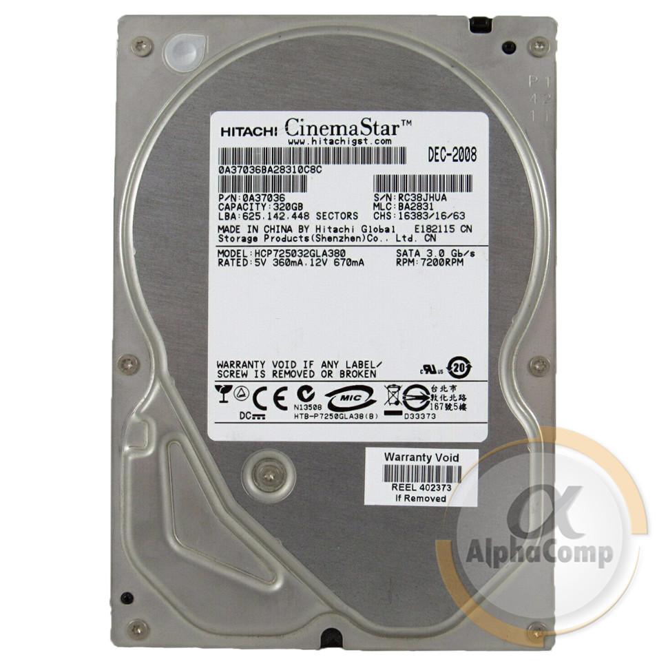"Жесткий диск 3.5"" 320Gb Hitachi  HCP725032GLA380 (8Mb/7200/SATAII) БУ"