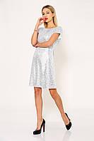 Платье женское 115R311 цвет Серебристый