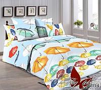 ✅ Семейный комплект постельного белья (Ранфорс) TAG R4114