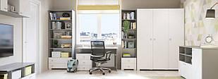 Комплект подростковой мебели  Х-Скаут-3 белый мат