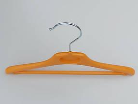 Плечики  V-DY30 оранжевого  цвета, длина 30 см, фото 2