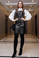 Платье-сарафан 12-1299 - черный: S М L XL, фото 1