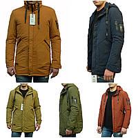 Чоловіча демісезонна куртка з фігурними кишенями, фото 1