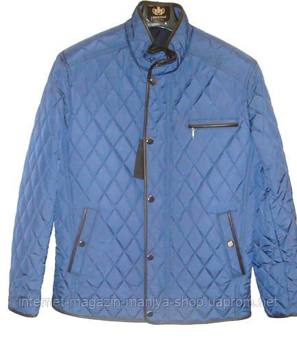 Мужская куртка ромбы