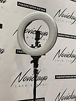 Кольцевая лампа S 408АС (Special Edition) (напольная) для косметологии, наращивания ресниц (без регулировки)