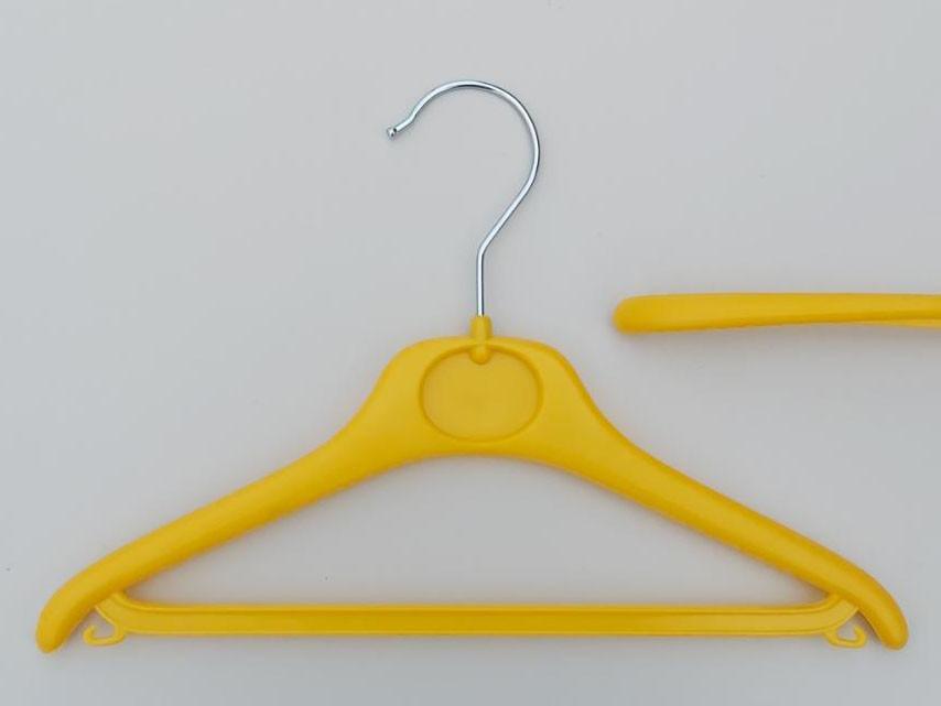 Плечики  V-DY30 желтого цвета, длина 30 см