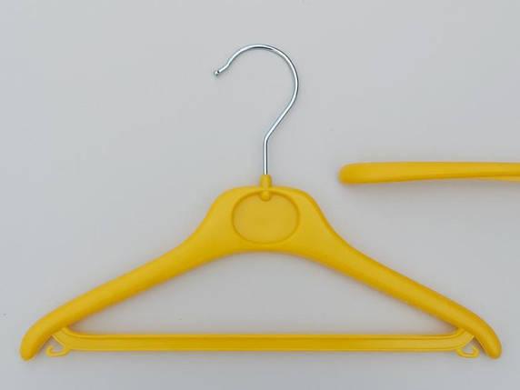 Плечики  V-DY30 желтого цвета, длина 30 см, фото 2