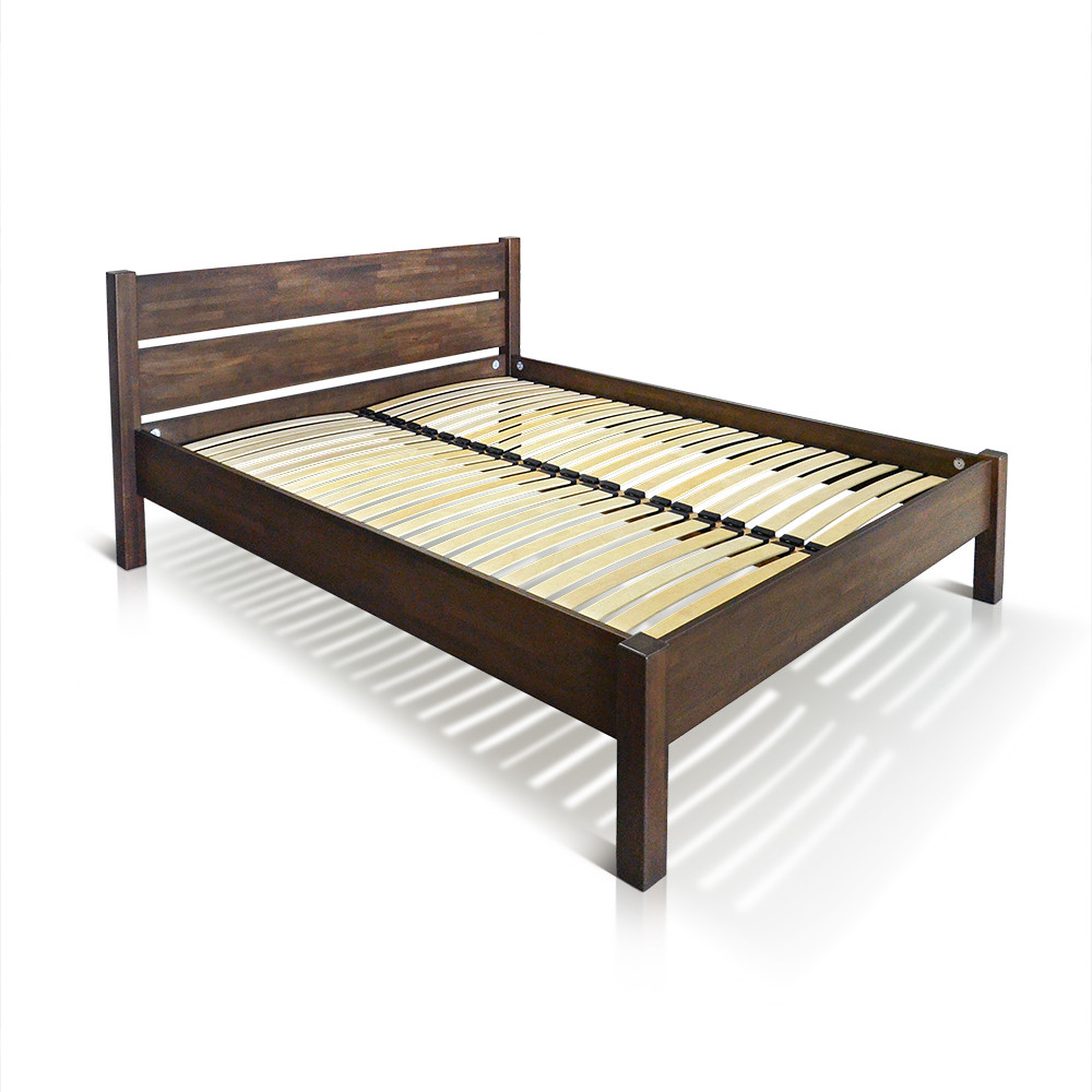 """Ліжко """"РЕЛІНГ"""", бук, коричневий"""