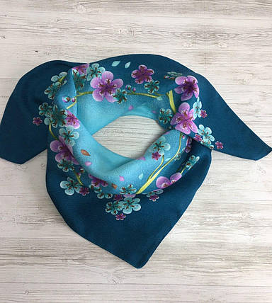 Женский шерстяной платок Орхидея, фото 2