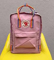 Рюкзак стильний міський Fjällräven Kanken Classic рожевий